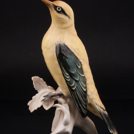 Фарфоровая статуэтка птицы Иволга, Karl Ens, Германия, 1940-50 гг.