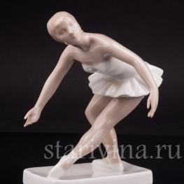 Фарфоровая фигурка Балерина, Royal Dux, Чехия, 1951-91 гг.